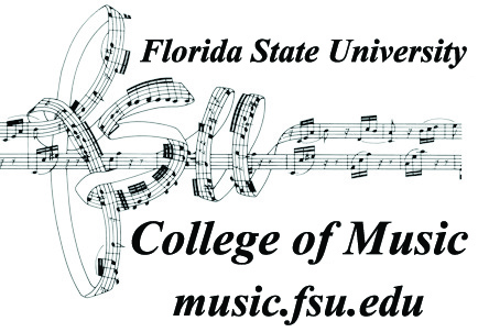 College of Music logo with website